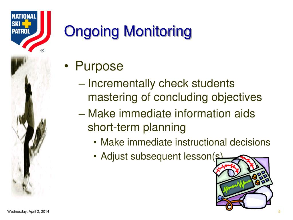 Ongoing Monitoring