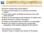 4 what are the limitations of the related work what is the novelty