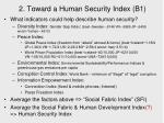 2 toward a human security index b1