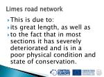 limes road network31