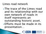 limes road network32