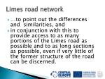 limes road network33
