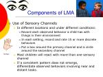 components of lma
