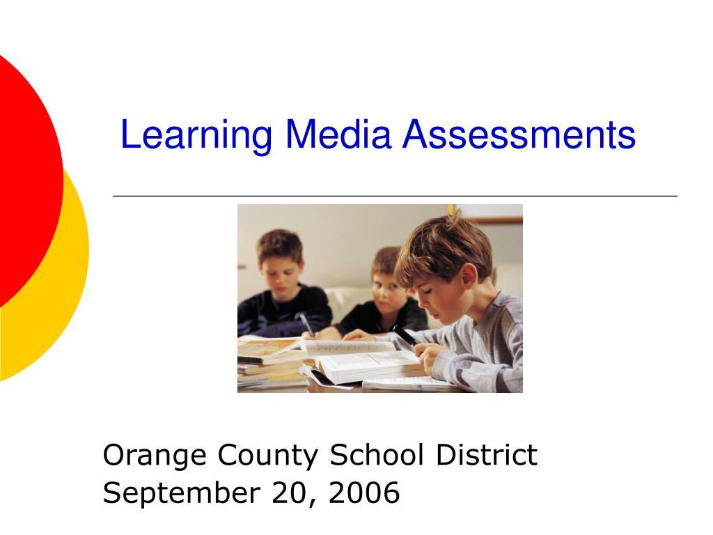 learning media assessments l.
