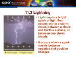 11 3 lightning