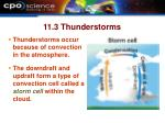 11 3 thunderstorms