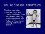 celiac disease pediatrics