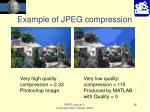 example of jpeg compression