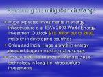 reframing the mitigation challenge