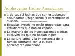 adolescentes latino americanos