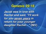 genesis 29 18