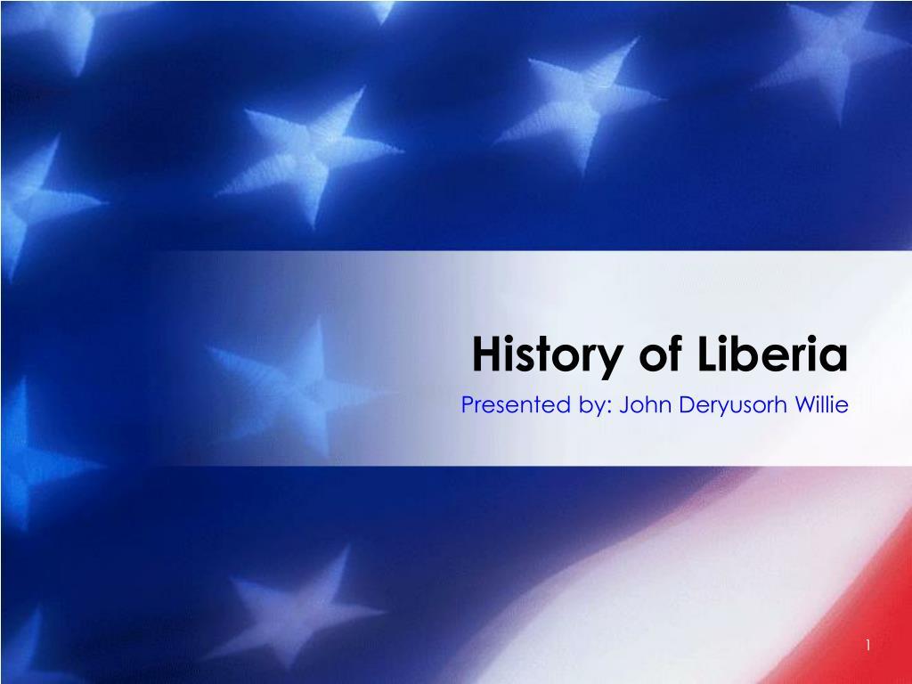 history of liberia l.
