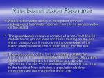 niue island water resource