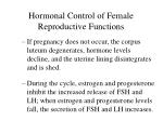 hormonal control of female reproductive functions39