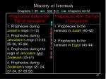 ministry of jeremiah41