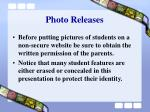 photo releases
