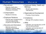 human resources what we do19