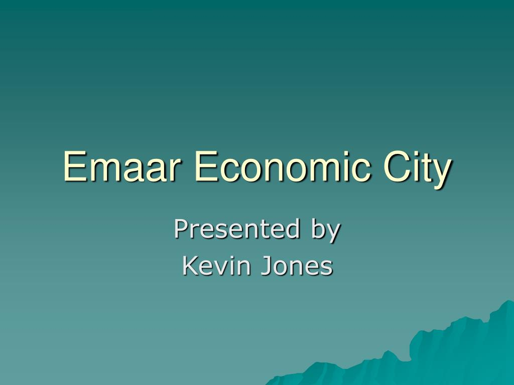 emaar economic city l.