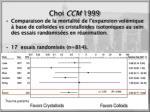 choi ccm 1999