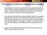 1 the logic and experience of intra regional investment5