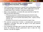 4 proposed tata investment in bangladesh a case of intra regional investment