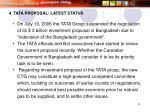 4 tata proposal latest status