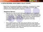 5 intra regional investment policy issues26
