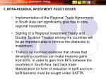 5 intra regional investment policy issues32