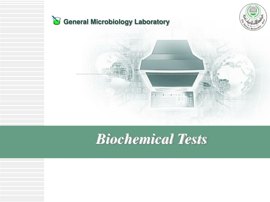 biochemical tests l.