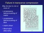 failure in transverse compression