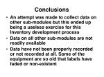 conclusions16