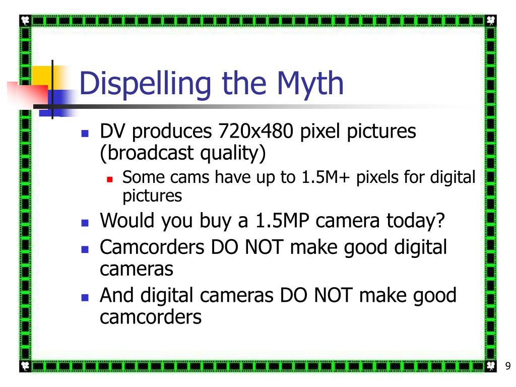 Dispelling the Myth