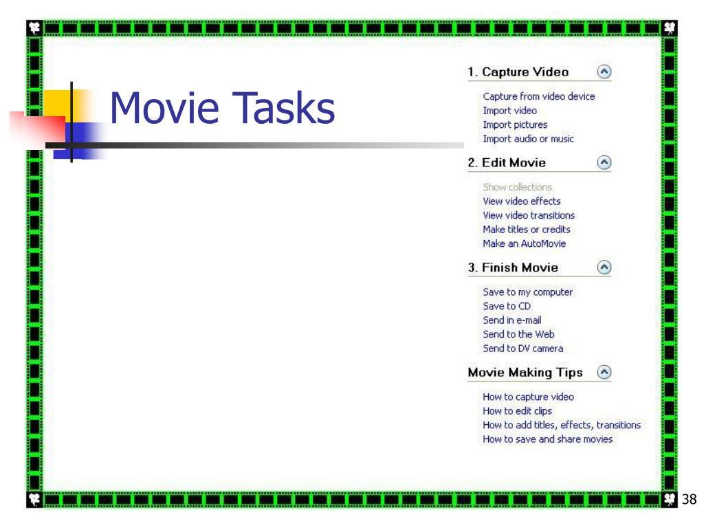 Movie Tasks