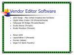 vendor editor software29