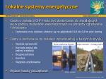 lokalne systemy energetyczne