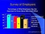 survey of employers