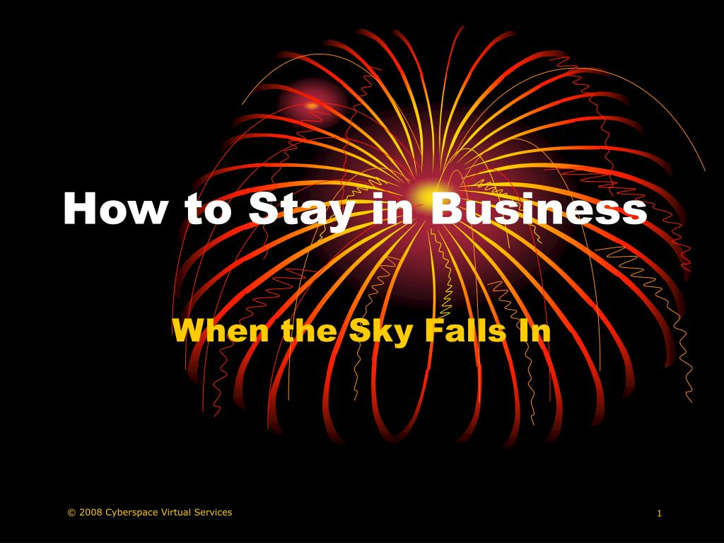 how to stay in business l.