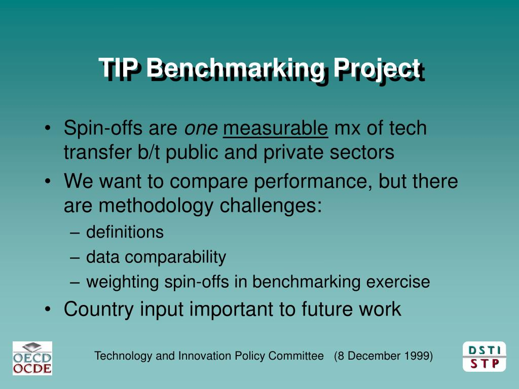 TIP Benchmarking Project
