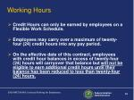 working hours32
