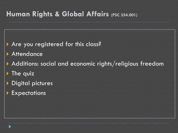 Human rights global affairs psc 354 0013