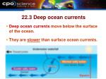 22 3 deep ocean currents