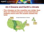 22 3 oceans and earth s climate12