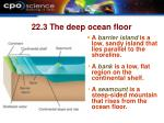 22 3 the deep ocean floor