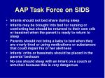 aap task force on sids