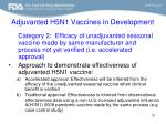 adjuvanted h5n1 vaccines in development31