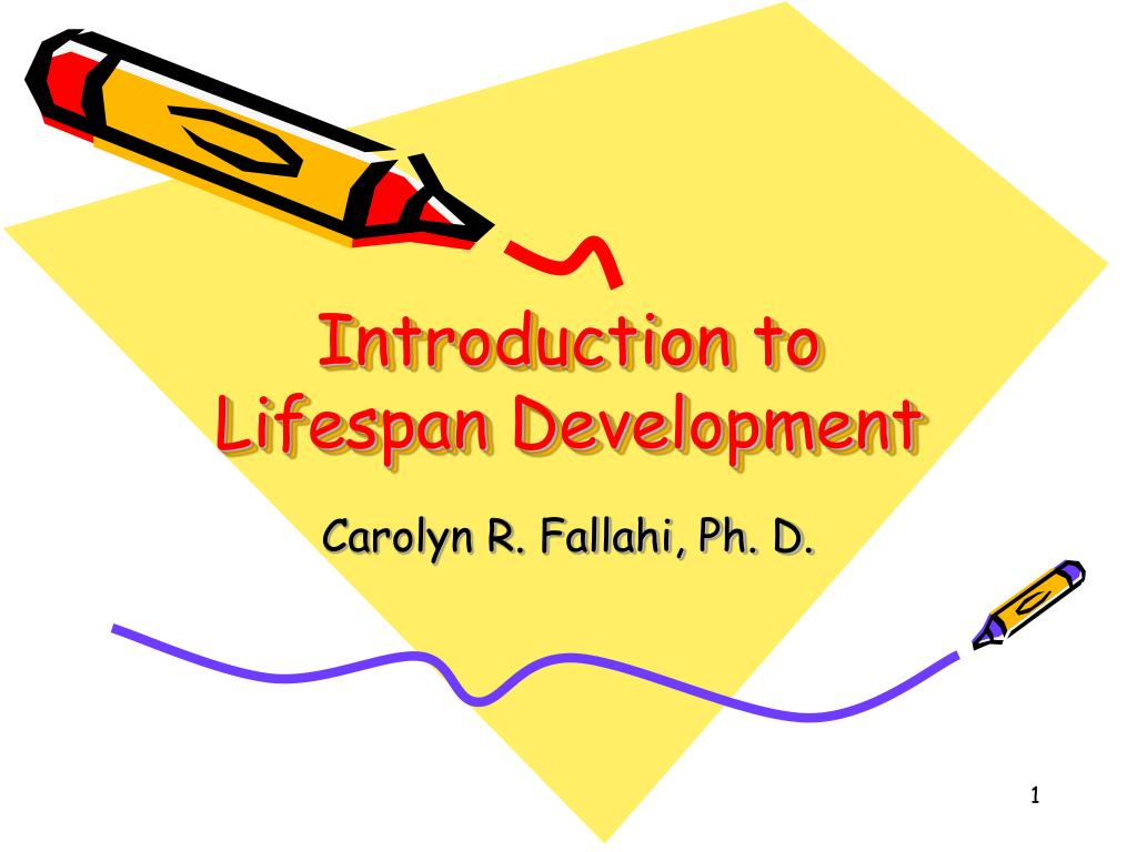 introduction to lifespan development l.