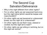 the second cup salvation deliverance30