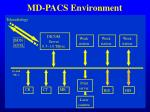 md pacs environment