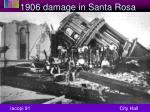 1906 damage in santa rosa