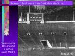 hayward fault runs thru berkeley stadium